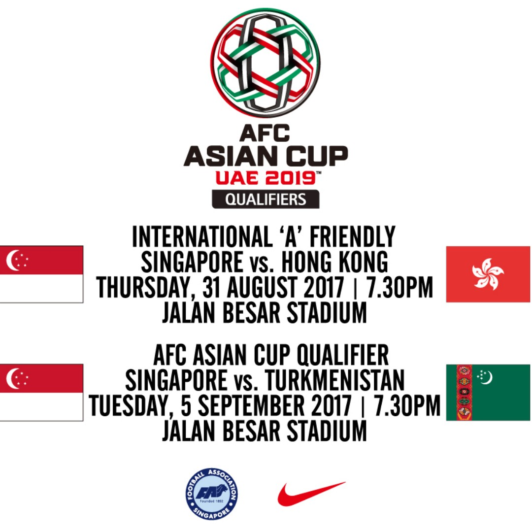 Asian Cup Qualifier Singapore Against Turkmenistan Grandstand Tiket Dwp Djakarta Warehouse Project 2017 2 Day Pass Tickets Entertainment Events Concerts On Carousell