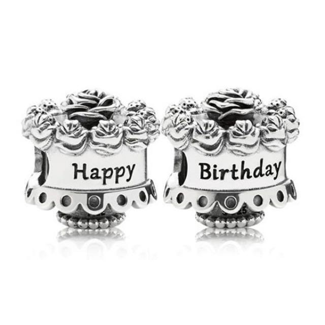 Sensational Authentic Pandora Birthday Cake Charm Womens Fashion Jewellery Birthday Cards Printable Opercafe Filternl