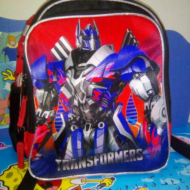 Authentic Transformer Backpack