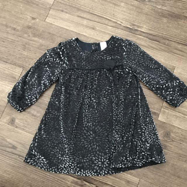 Baby Club Gray Dress