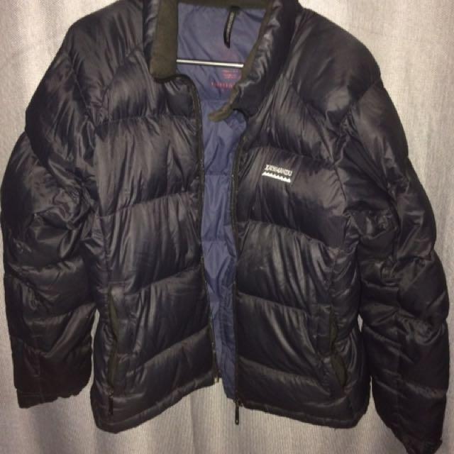 Black kathmandu insulated jacket