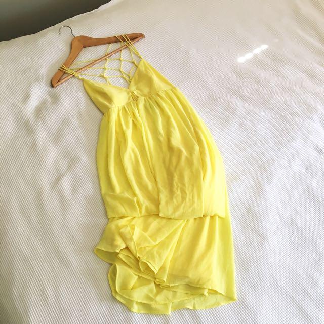 BNWT Yellow Summer Maxi Dress