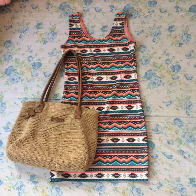 Boho BodyCon Dress