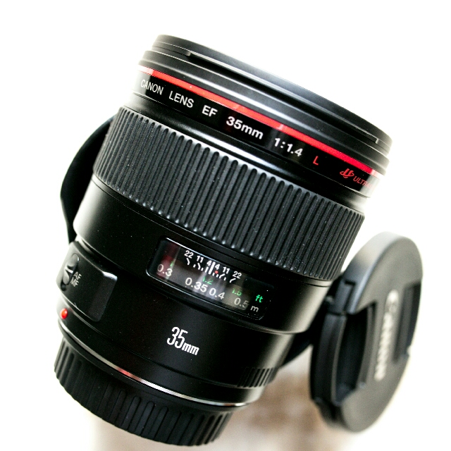 brandnew Canon 35mm f1.4L usm with warranty