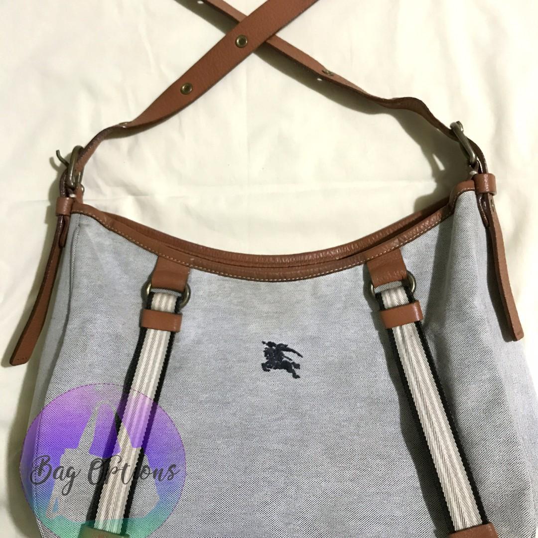 Authentic BURBERRY LONDON Blue Label Sling Shoulder Bag, Women s ... 43e70ff612