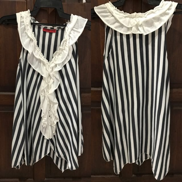 Butterfly Striped Top