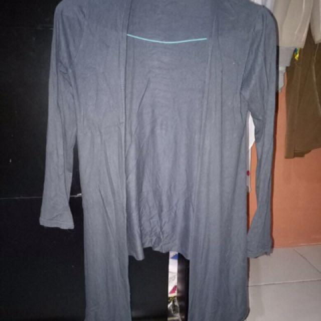 Cardigan jersey grey