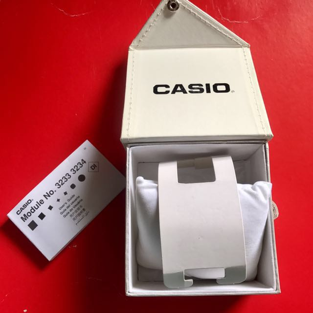 Casio Watch Box Only