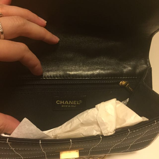 123da60afaf8 Chanel vintage black small carry bag, Luxury, Bags & Wallets on Carousell