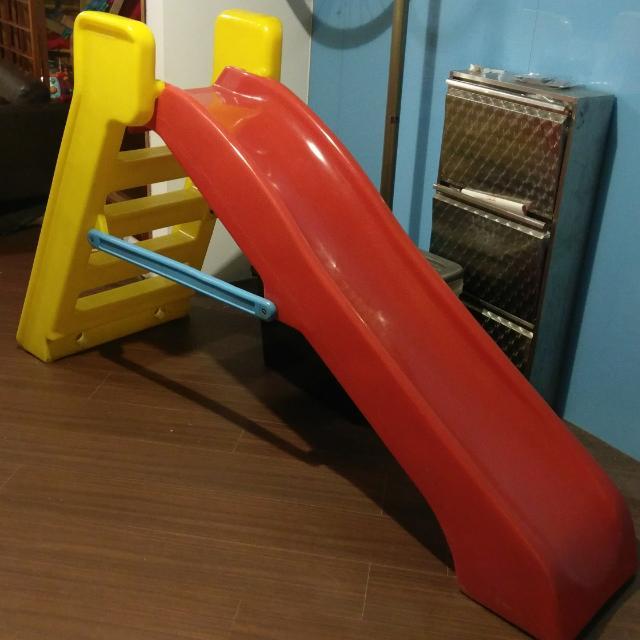 chicco兒童 溜滑梯 室內 遊樂器材 堅固穩定