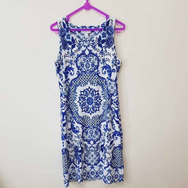 China Blue Dress