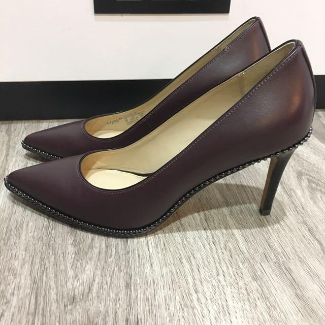 Coach heels - Pre loved