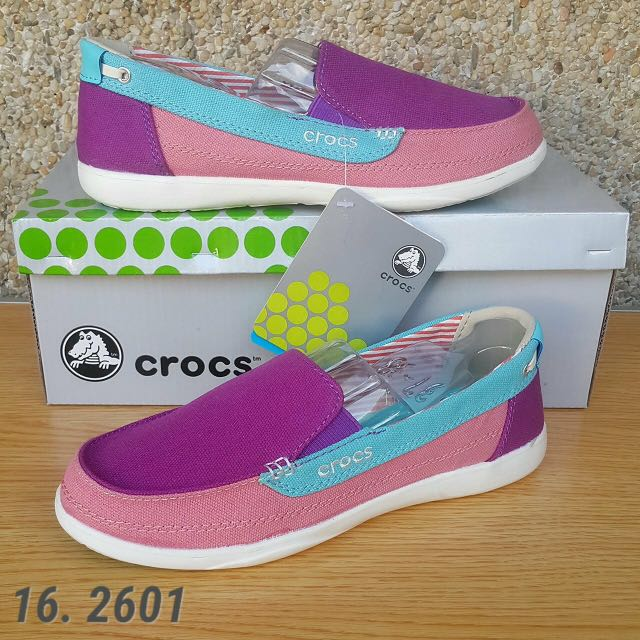 c19bd3a91 Crocs™ Women s Walu Canvas Loafer