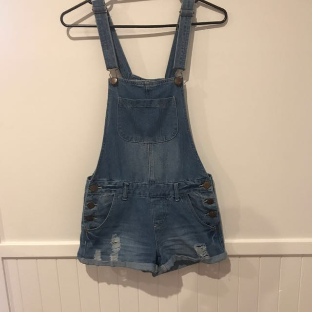 Distressed Dungarees / Overalls