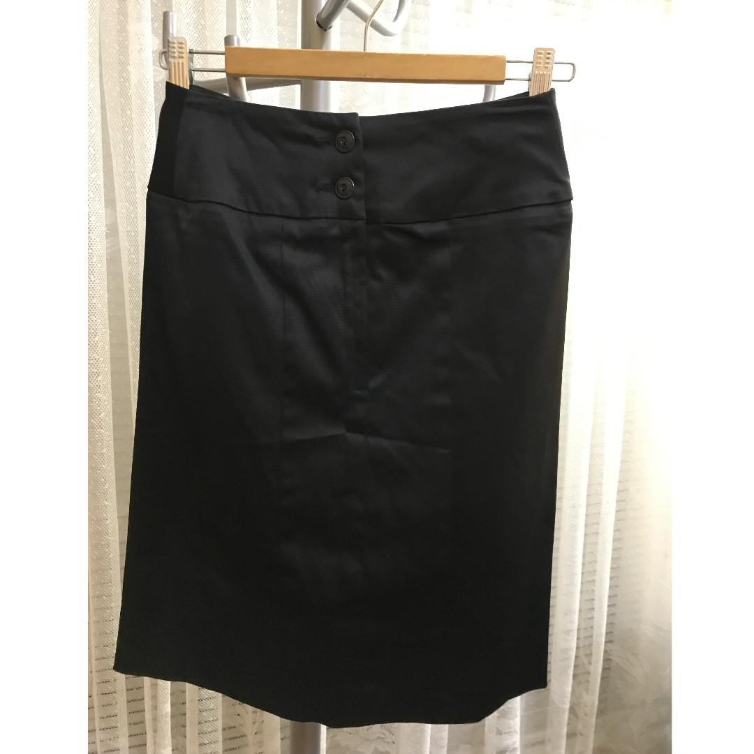 Dizingof black skirt size 8