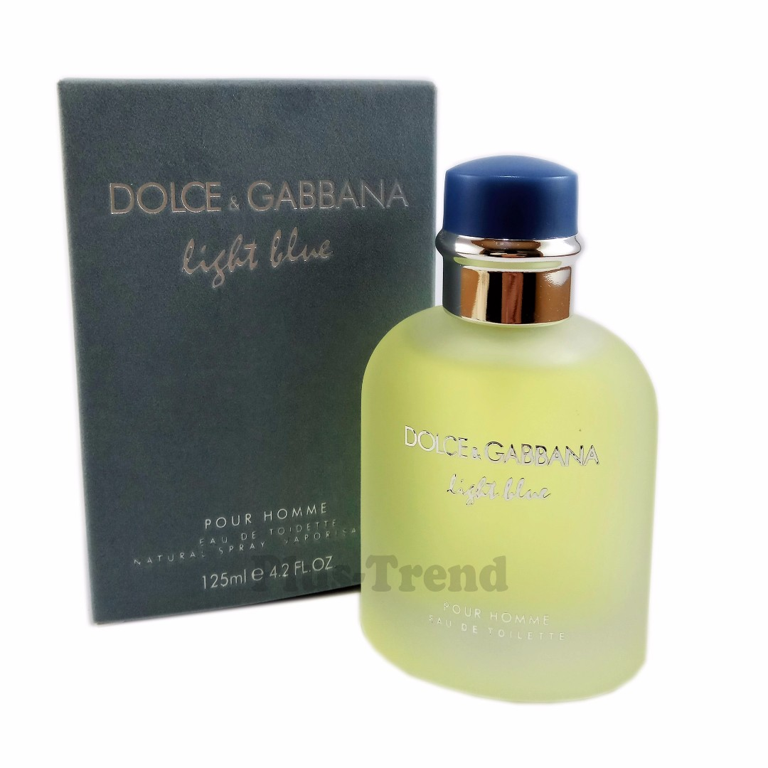2620b8b9ab2fd2 Dolce   Gabbana Light Blue Pour Homme 125ml (UK), Health   Beauty,  Perfumes, Nail Care,   Others on Carousell
