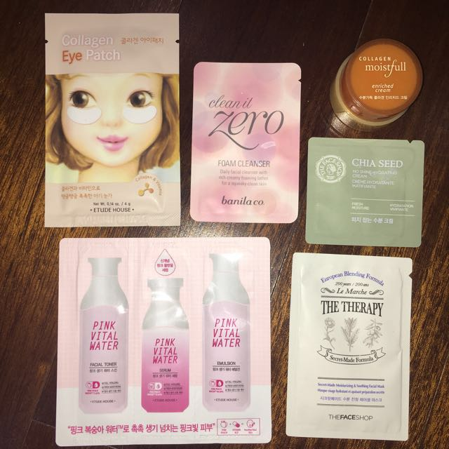 Etude House, Banila Co. & TheFaceShop