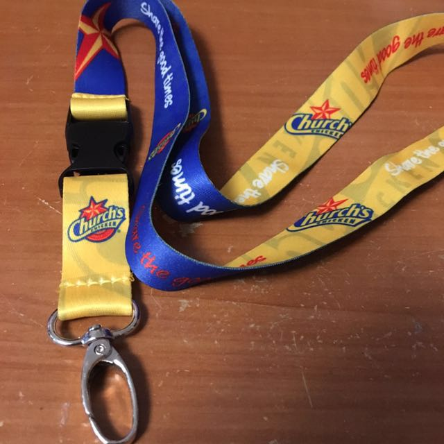 FREE CHURCH'S CHICKEN LANYARD