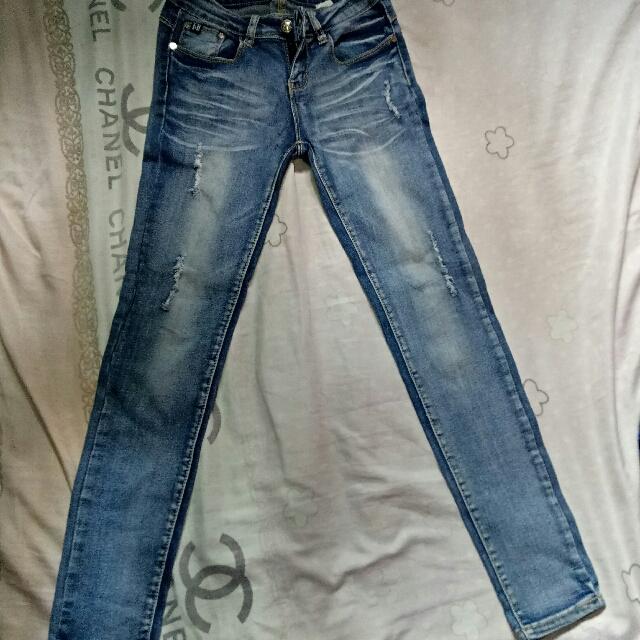 Fubu Tattered Jeans