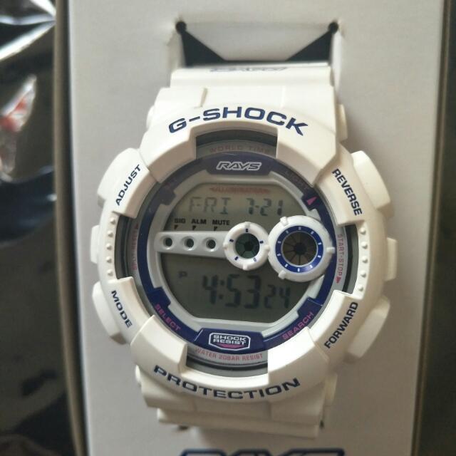 G Shock Rays聯名