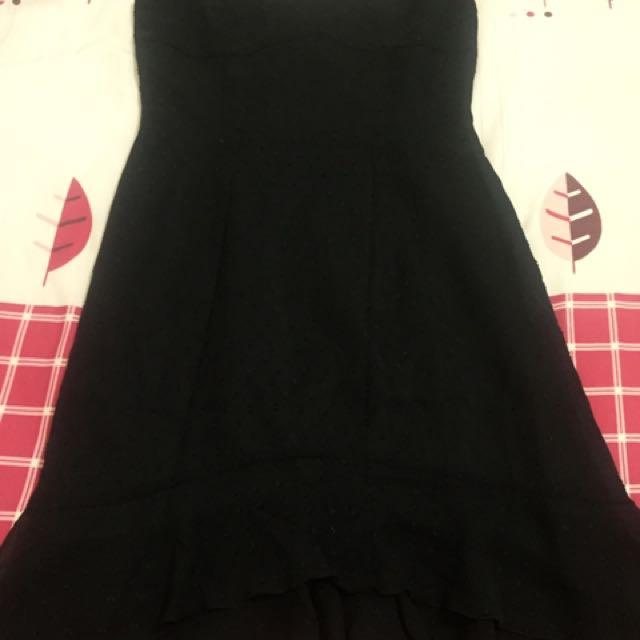 Gaun Malam - Black