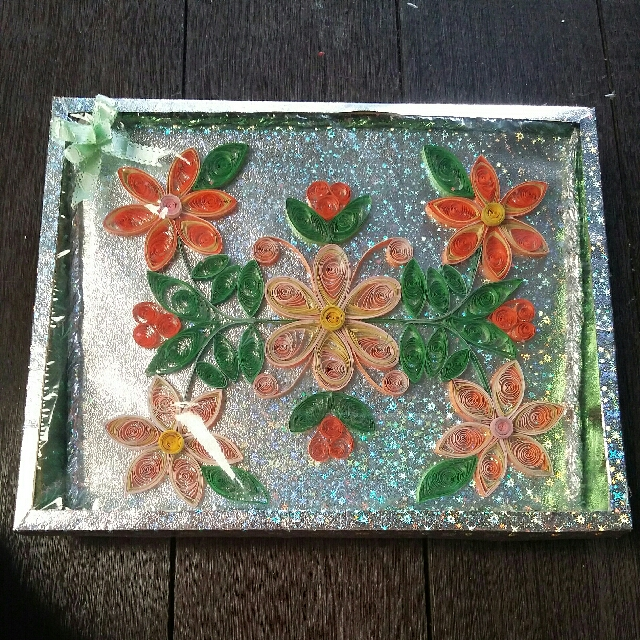 Handmade Paper Quil Gift