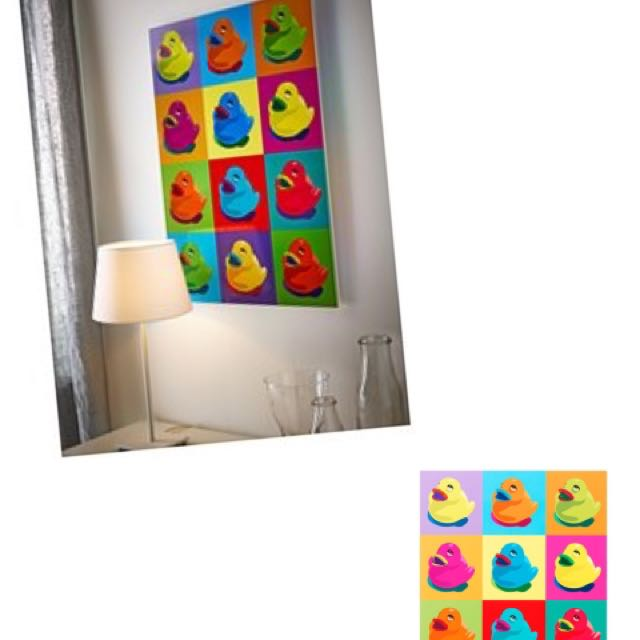 ikea framed art (andy warhol inspired), Furniture, Home Decor on ...