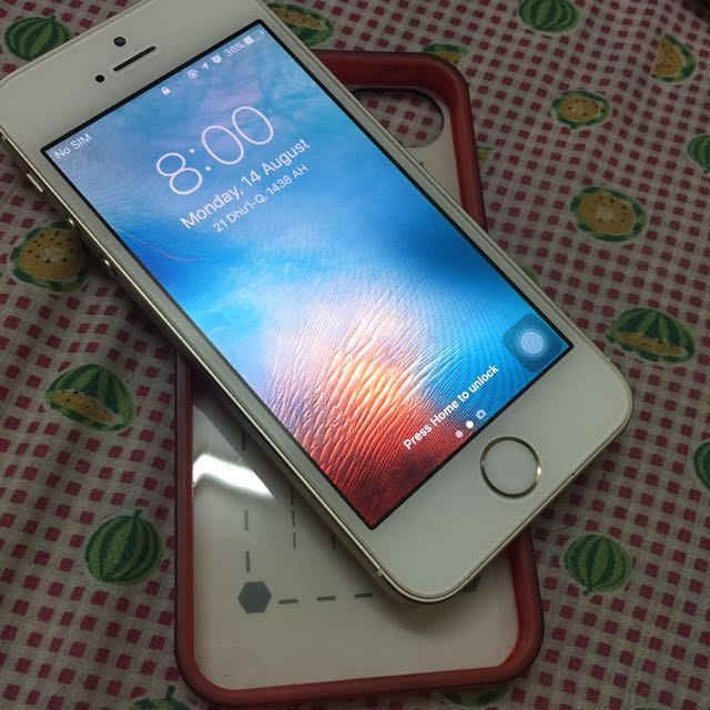 Iphone 5s Gold 32gb MY Set