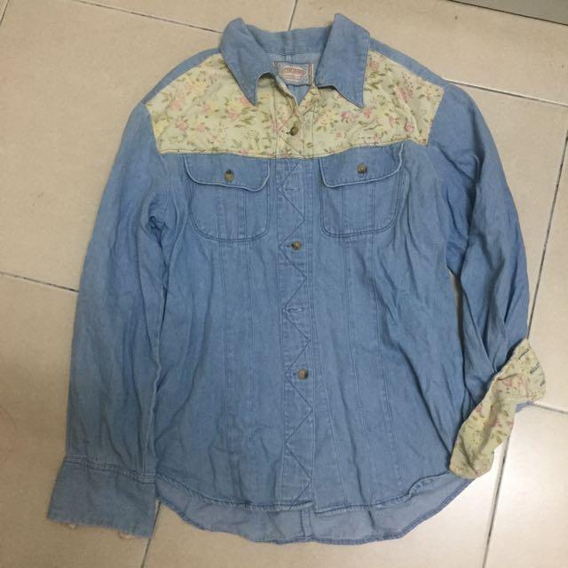 Jeans Shirt Top
