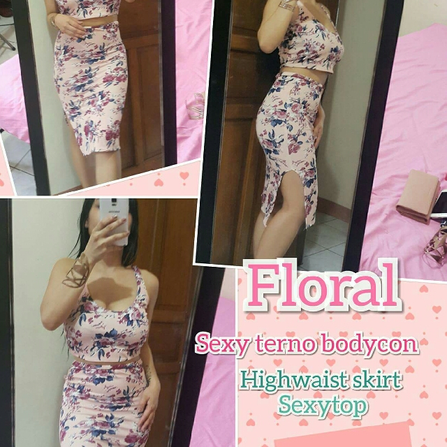 Jenner Body Con  Terno Dress