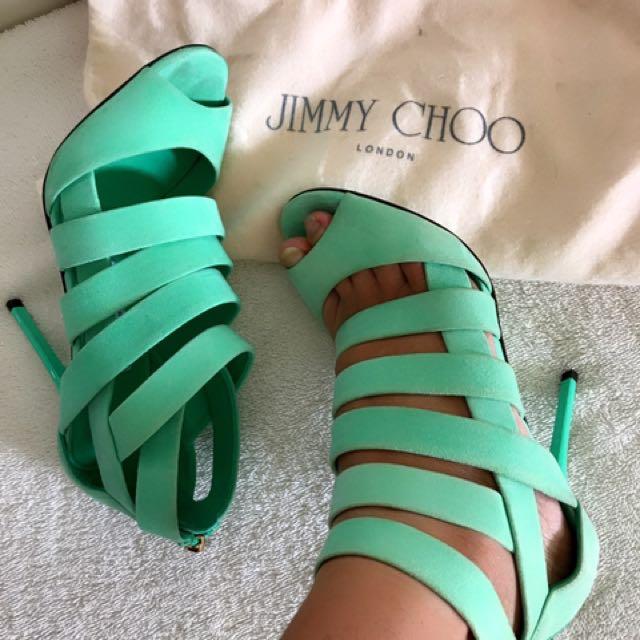 Jimmy choo heels autenthic sz 35