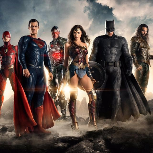 Justice League HD Print Wall Art On Canvas
