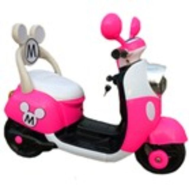 Kids Minnie scooter Mickey scooter  toy car kiddy ride