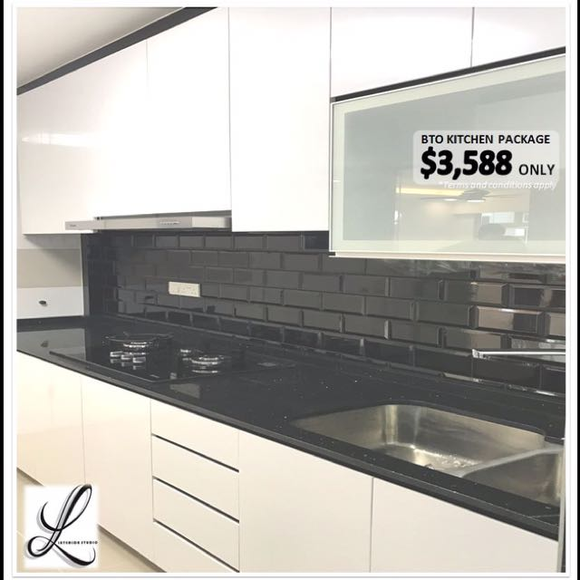 Kitchen Cabinet Package, Furniture, Shelves & Drawers On