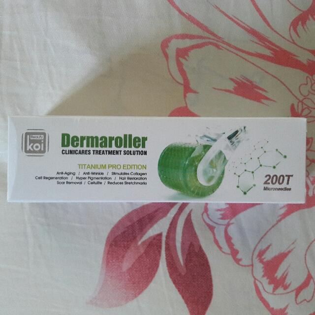 Koi Beauty Dermaroller Titanium Pro Edition