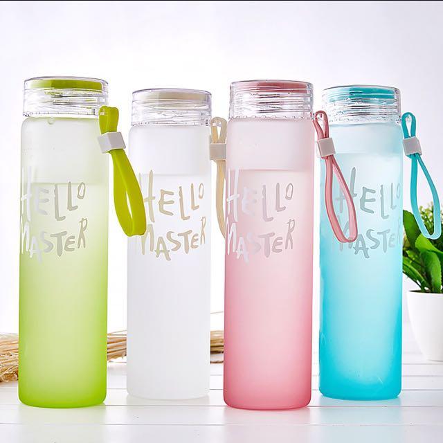Korean Glass Water Bottle Everything Else On Carousell