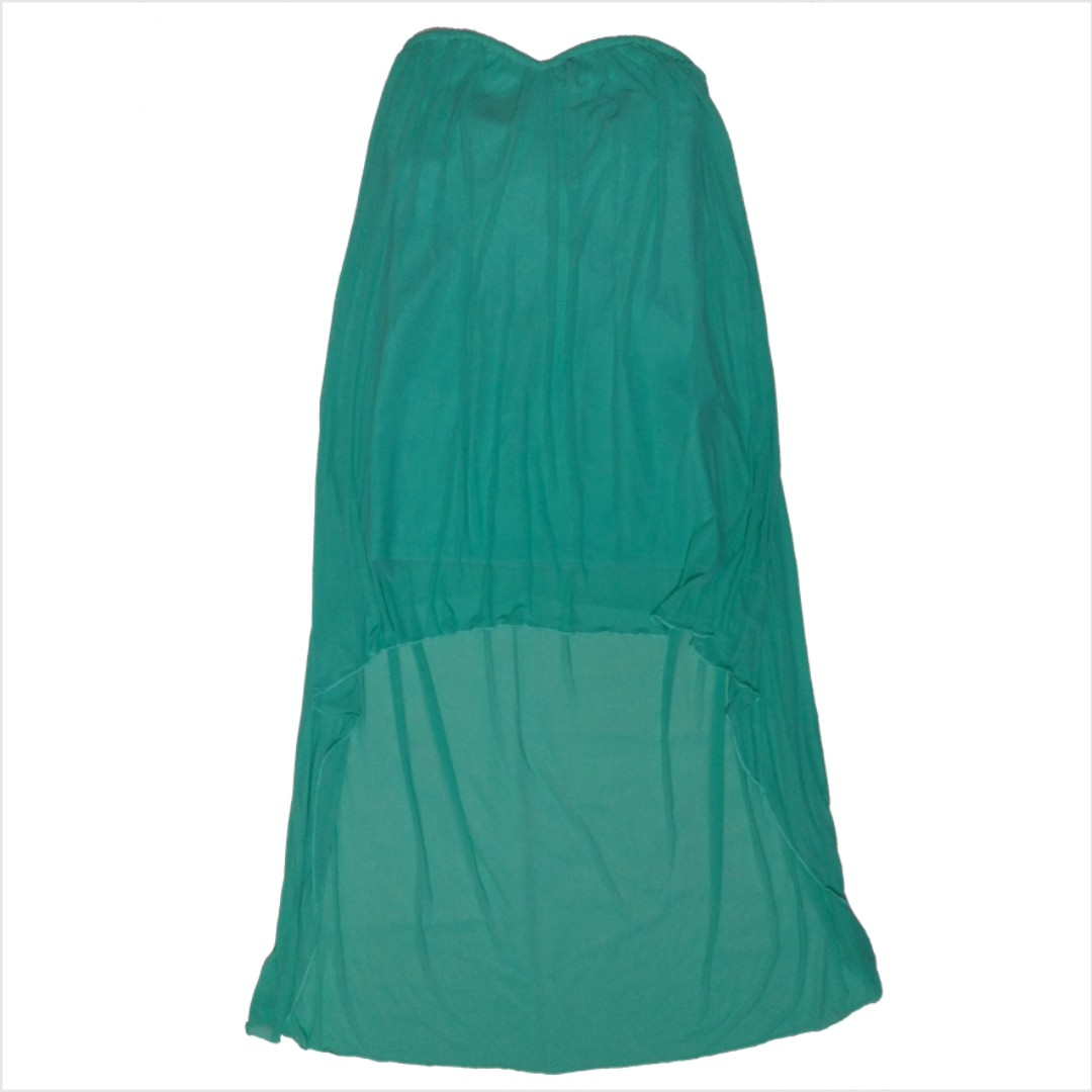 L'amour Hi-Low Tube Dress