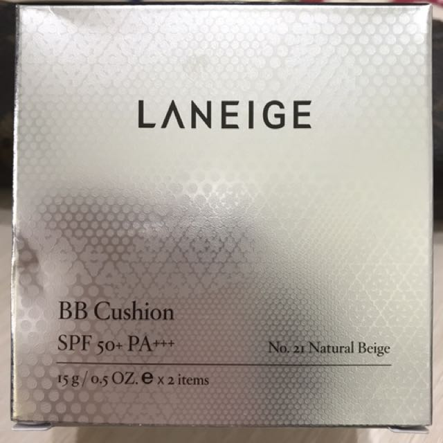 蘭芝LANEIGE BB Cushion 補充蕊2入