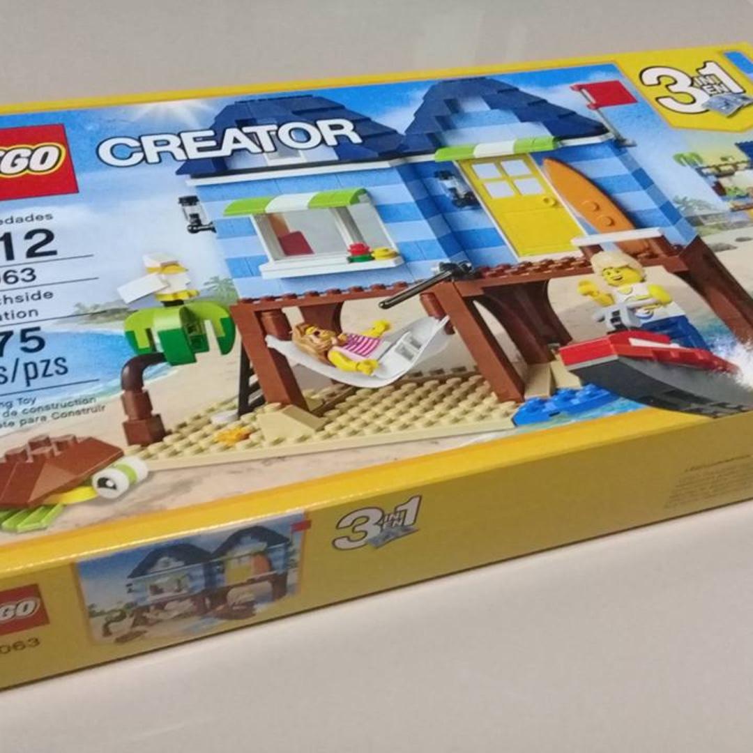 Lego Creator Beach Side Vacation