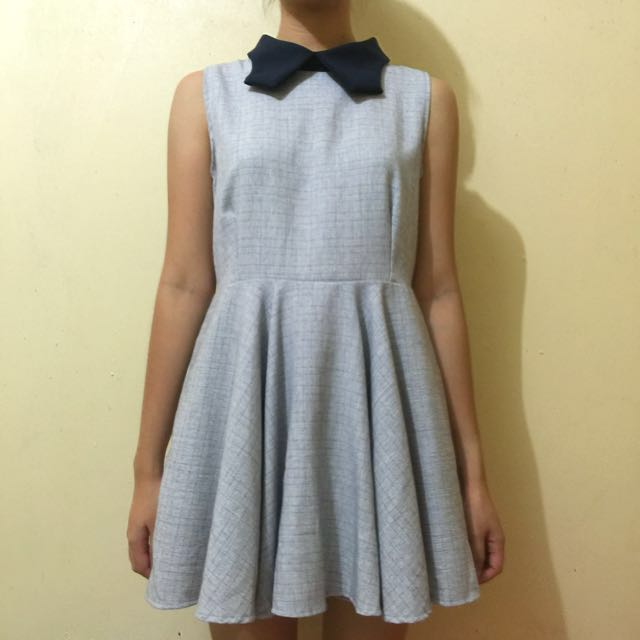 Maple Sleeveless Collared Dress