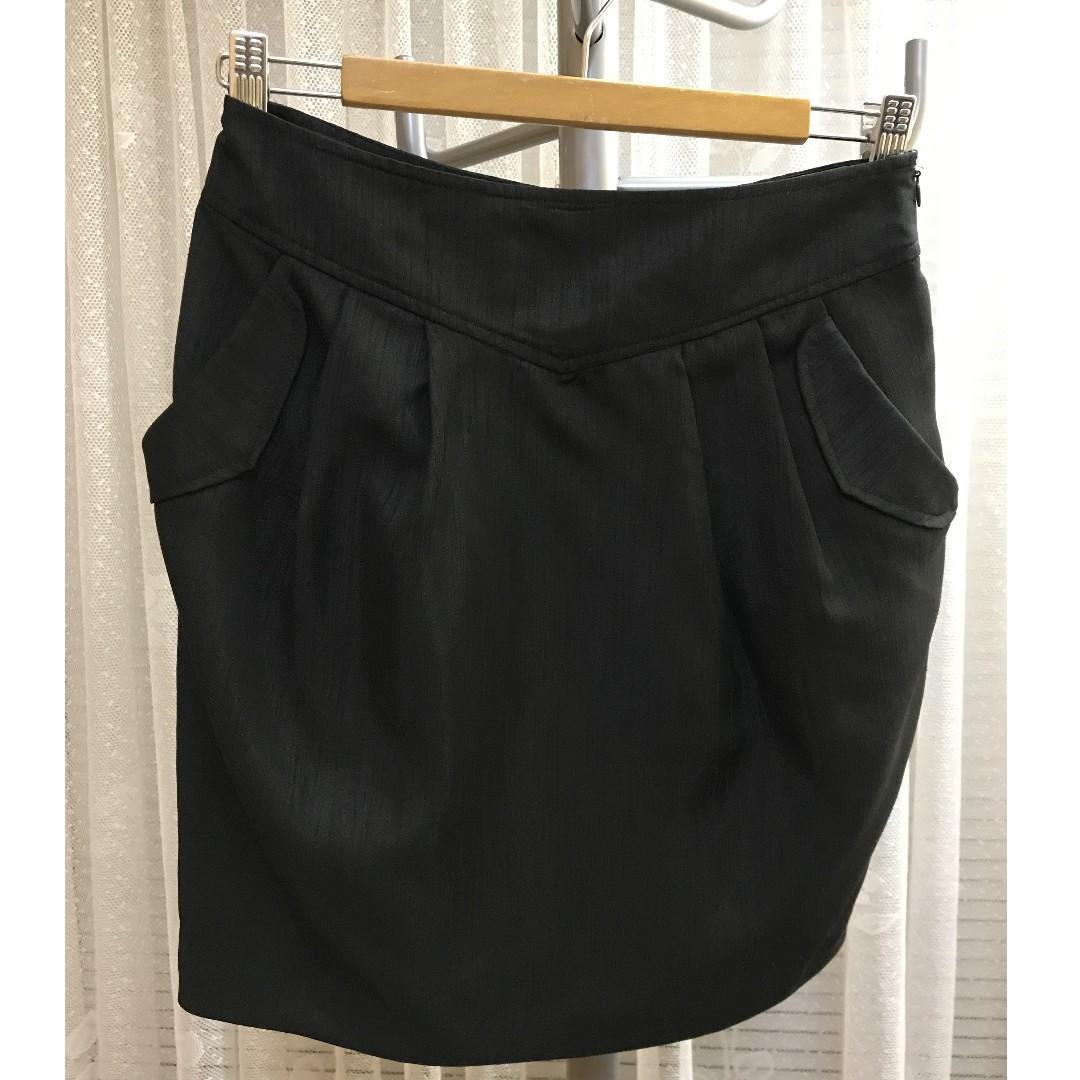Miss Shop black skirt size 8