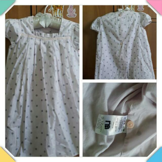 Mothercare polka dress