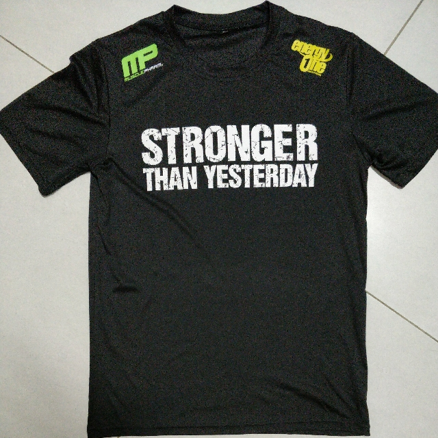 819f23424 Musclepharm Dri-Fit T-shirt, Sports, Sports Apparel on Carousell