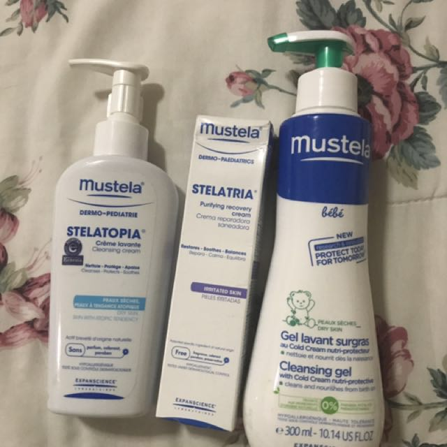 Mustela Set of 3