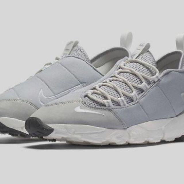 nike air footscape nm wolf grey 女鞋