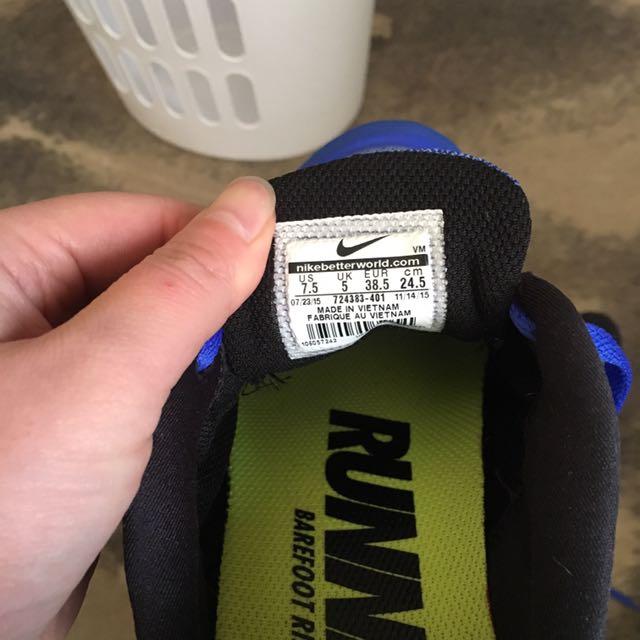 Nike free 7.5 runners