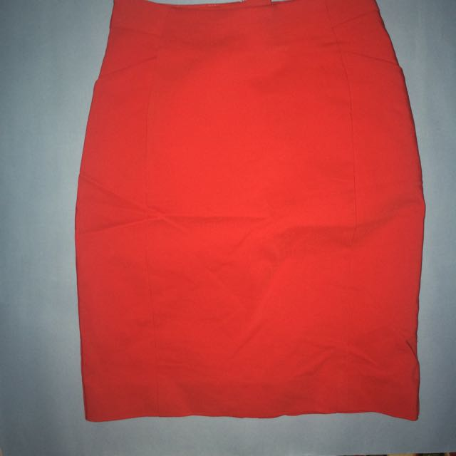 original h&m red skirt