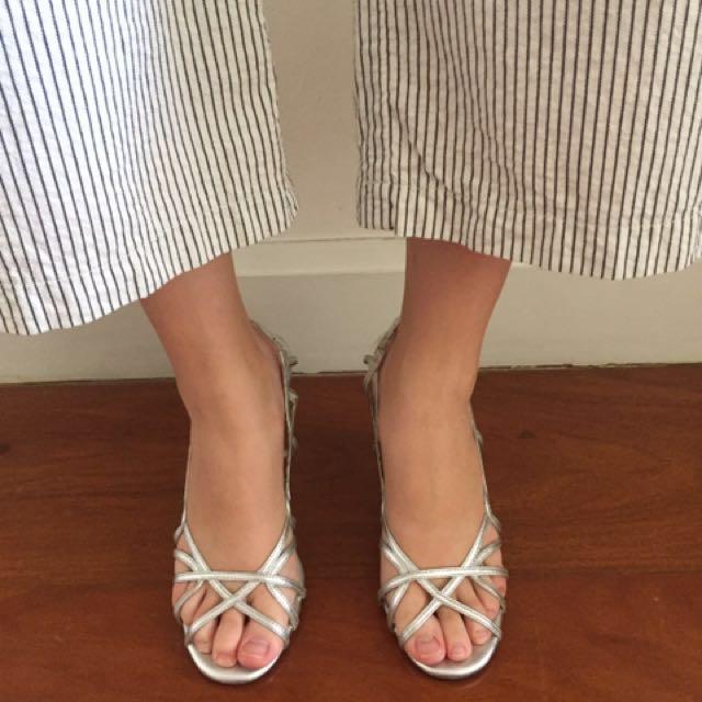 Original Silver Tyler Heels