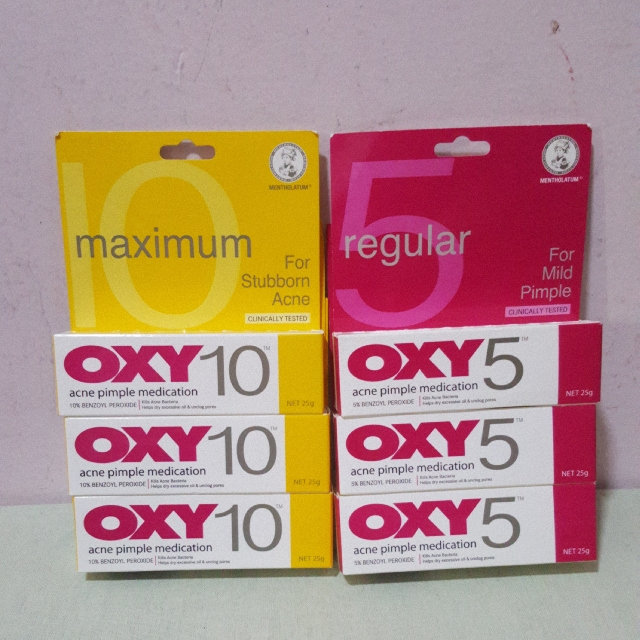 OXY 10 & OXY 5