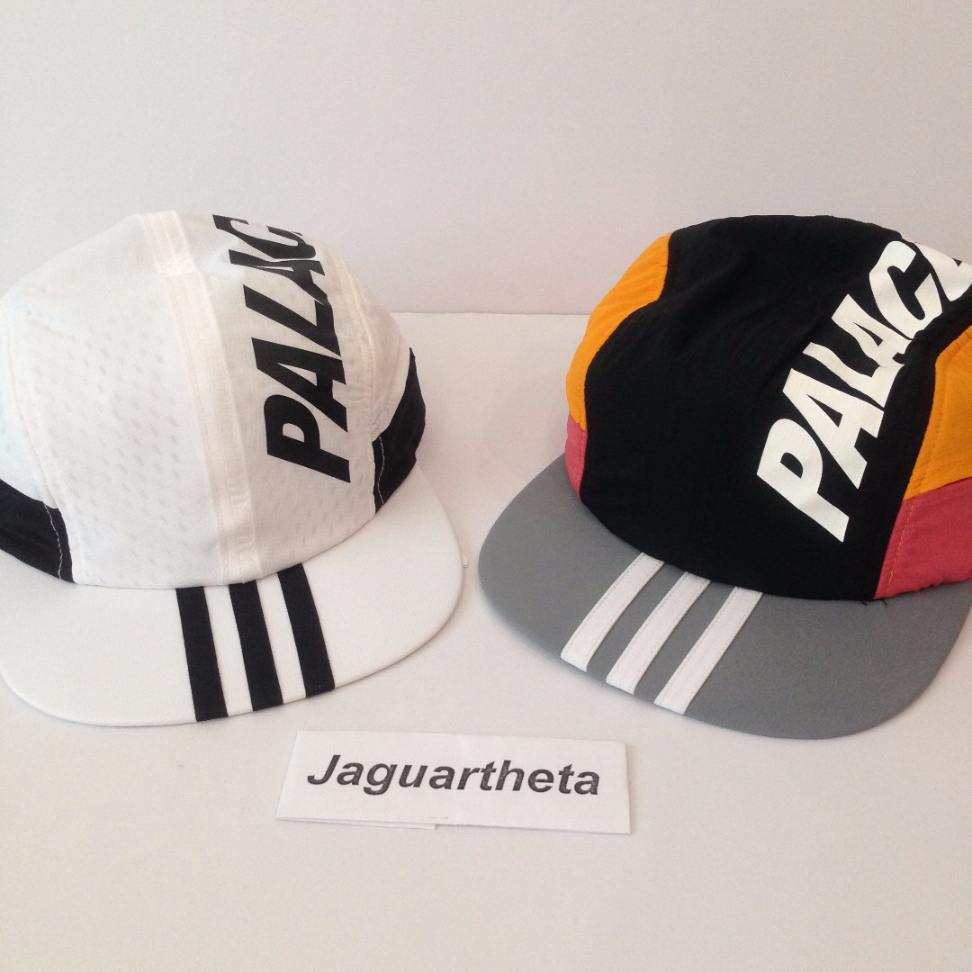 b34066b37f8 Palace X Adidas SS17 Running Cap White   Multi